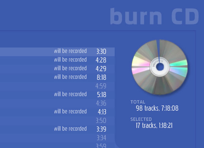 Burning Software