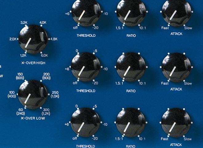 Compresseurs multibandes de studio