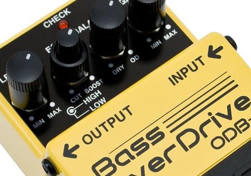Distorsions/Overdrives/Fuzz Basse