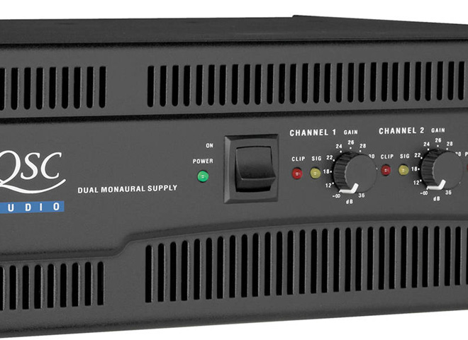 Dual-Channel Power Amps