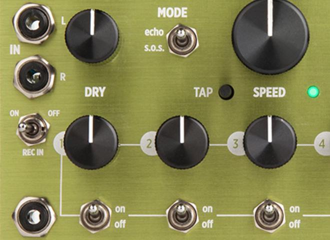 Effects modules for modular synthesizer