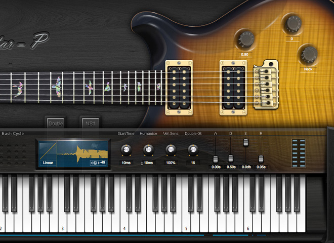 Guitares électriques virtuelles