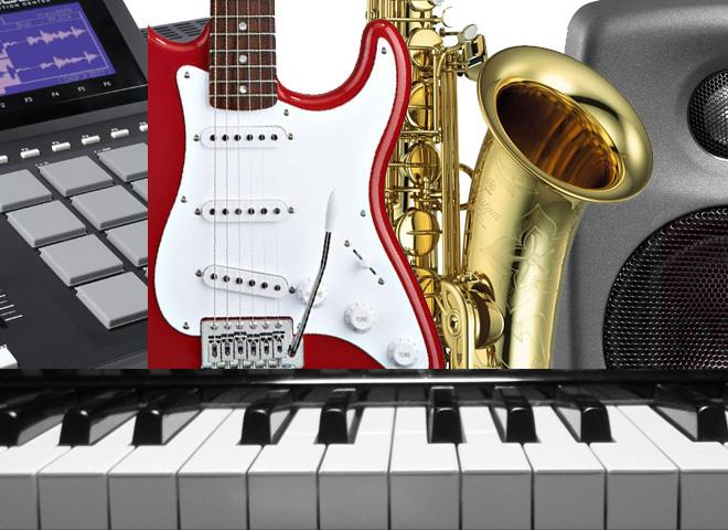 Instruments et matériels audio