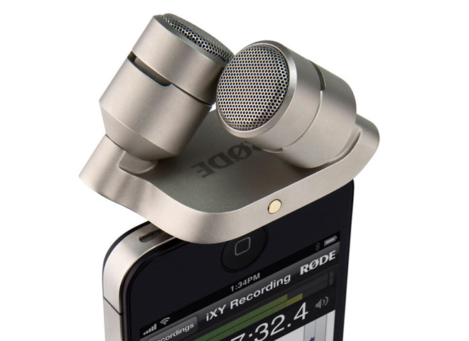 Microphones for tablets/iDevices