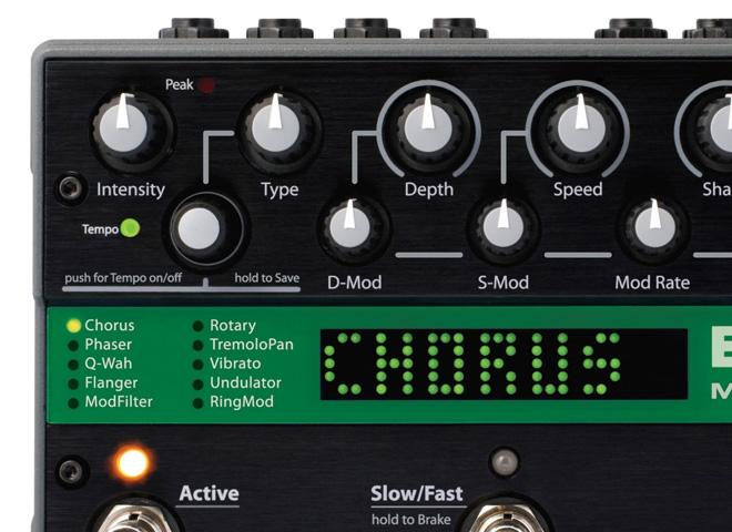 Multi-effets et autres effets à modulation