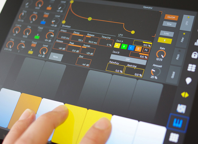 Music with touch devices