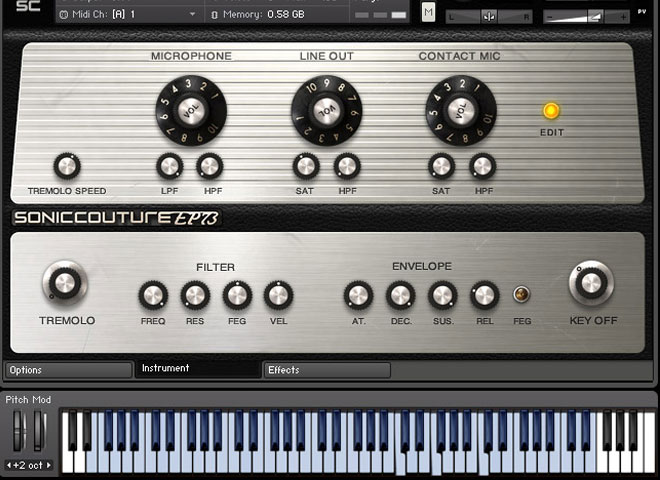 Pianos électriques virtuels