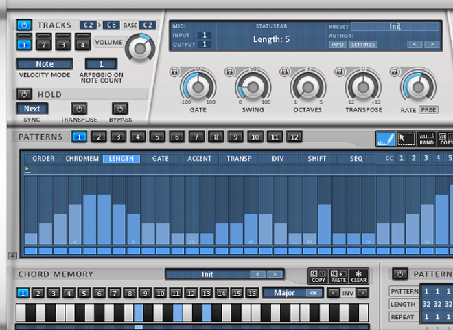 Plug-ins MIDI