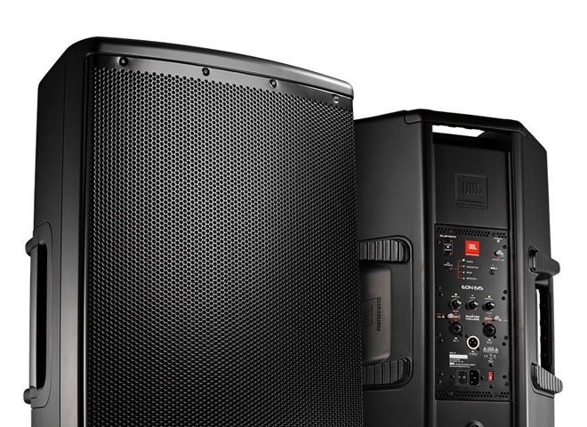 Powered PA Speaker Cabinets