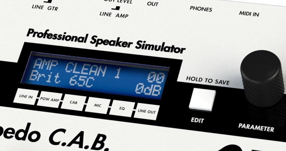 Simulateurs de HP pour ampli guitare