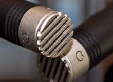 Small diaphragm condenser tube microphones