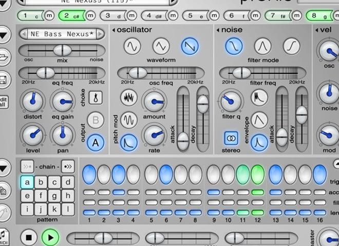 Synthés percussifs ou boîtes à rythmes virtuels