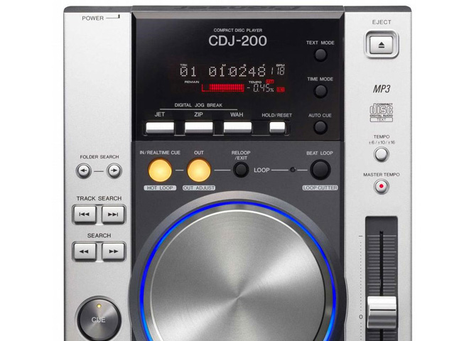 Tabletop DJ players