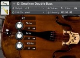 Virtual upright basses
