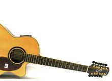 Acoustic-electric resonator guitars