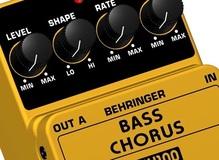 Chorus/Phaser/Flanger para Bajo