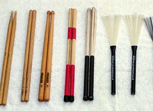 Drum Sticks, Mallets, Brushes...