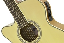 guitare gaucher nylon electro acoustique