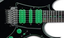 Guitarras Eléctricas Solid Body de 7/8 cuerdas et barítono