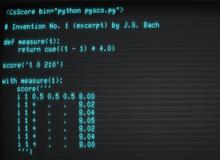 Herramientas para la programación del audio