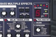 Multi-efectos para Bajo