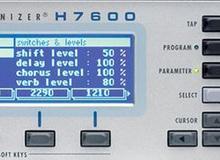 Multi-Effekt Prozessoren