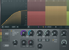Software multiband compressors