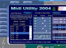 Utilitaires MIDI logiciels
