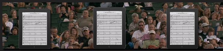 Die Vor- und Nachteile wenn man ein iPad verwendet um Notationen und Lyrics auf der Bühne zu lesen