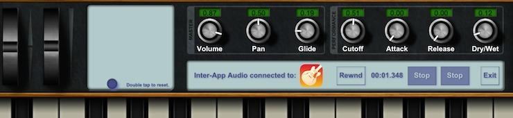 Mit mehreren iPad/iPhone Apps musizieren