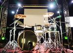 Wie man ein grosses Rock Schlagzeug produziert