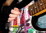 Wie erzeuge ich mit der Gitarre einen Punk Sound?