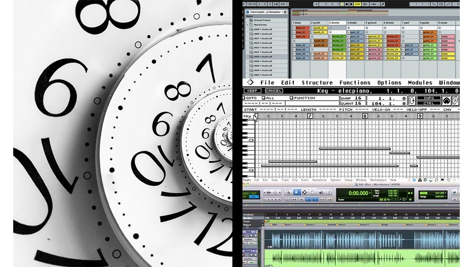 Timeline: DAWs and software sequencers - Audiofanzine