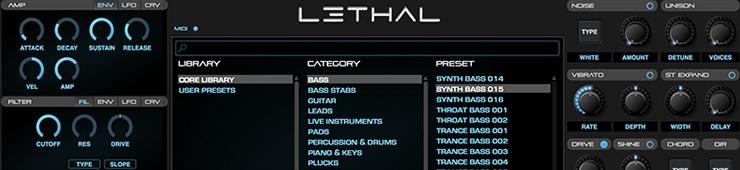 Killer Sounds from Lethal