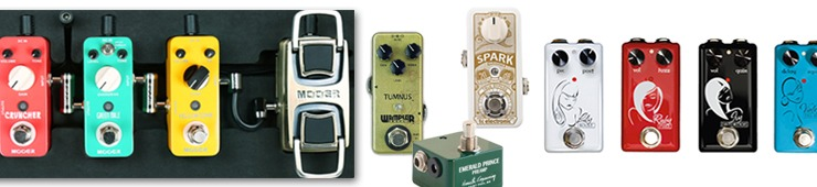 Mini-effects pedals make configuring your pedalboard a whole new ballgame