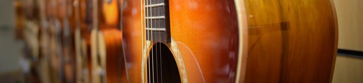 The best brands for acoustic folk guitars