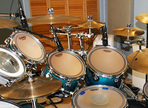 Recording drums — The toms