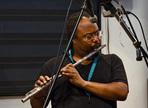 Recording a flute
