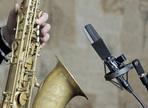 Recording a saxophone