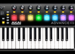 Review of the Akai Advance 49 Keyboard Controller