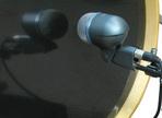 Recording drums — Kick drum mics