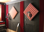 Acoustic treatment for a home studio