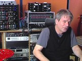 Masterclass with George Massenburg on different topics related to recording a band