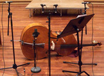 Recording a bowed upright bass