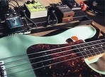 Recording bass guitar - With or without effects?