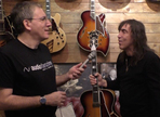 Video: Audiofanzine Visits D'Angelico Guitars