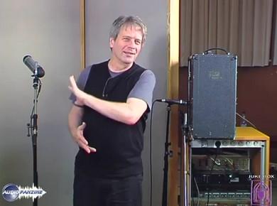 Masterclass on Guitar, Vocals & Organ Recording with George Massenburg