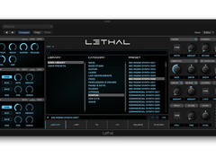 A video review of the new synth from Lethal Audio
