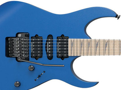 Ibanez RG 2570MZ VBE Guitar Review