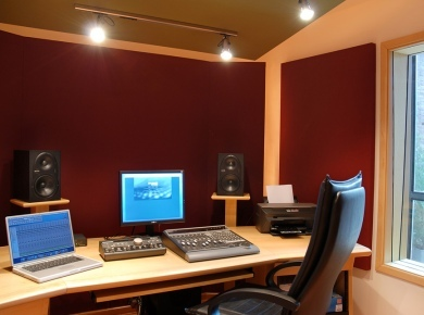 acoustic treatment for small studios audiofanzine. Black Bedroom Furniture Sets. Home Design Ideas